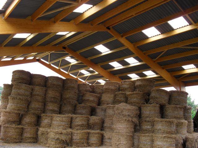 Concept bois b timent agricole bois stokage agricole for Plan de batiment agricole